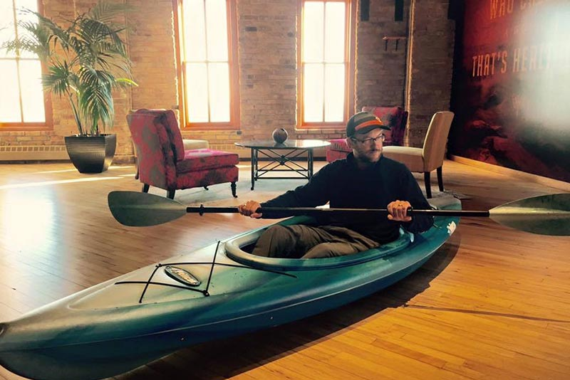 Hailey Sault Office Jake Kayak