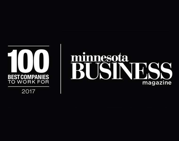 Top 100 Companies to Work For from MN Business Magazine