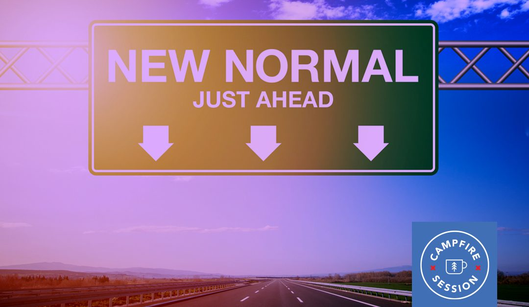 "Traffic sign ""new normal"" ahead"